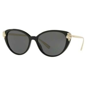 Versace Cat Eye Style Grey Lens